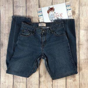 Levi's Stretch Mid Rise Straight Leg Vintage Jeans